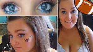 makeup ideas football makeup high football game makeup tutorial you