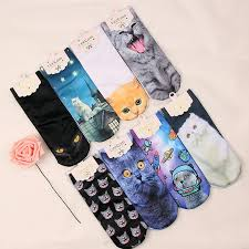 Fashion Socks <b>Men's</b> Women's Boys Girls <b>3D Printed</b> Unisex Cotton ...