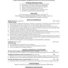 Resume Examples For Hospitality Industry Resumetipsindustrytypeshospitalityhospitalityresume 2