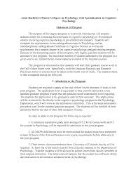 Psychology Personal Statement Examples Template Business Template