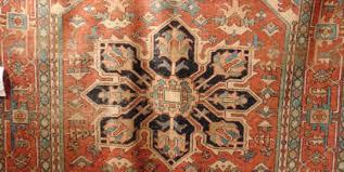 antique persian serapi circa 1920