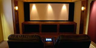 basement theater ideas. Decoration: Learn How To Lay Out A Home Theater Basement Theatre Ideas
