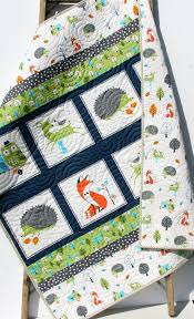 last one forest baby quilt boy quilt