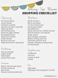 www.detailgal.com: Setting Up House Checklist: Kitchen, Cleaning, Linens |  Home | Pinterest | Linens, Kitchens and House