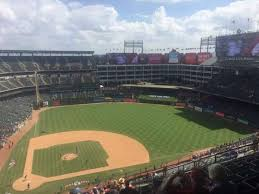 Texas Rangers Stadium Chart Globe Life Park In Arlington Section 331 Home Of Texas Rangers