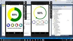 Custom Pie Chart Android Example Xamarin Forms With Visual Studio Part 17 Pie Charts Custom Controls