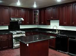 Brilliant Dark Kitchen Cabinets Colors Cherrykitchencabinets Beech Wood Cherry In Design Decorating