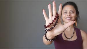 Hessonite vs <b>Red Garnet Bracelets</b> - Satin Crystals - YouTube