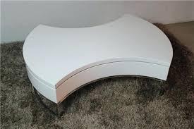 rotating coffee table white high gloss painting rotating coffee table triplo round swivel coffee table