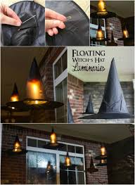 diy halloween decorations home. Diy Halloween Decorations Home. Floating Witch Hat Luminaries Home I T