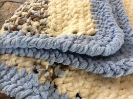 Crochet blanket -my son wanted a very cosy blanket. Used Bernat Baby Blanket  and