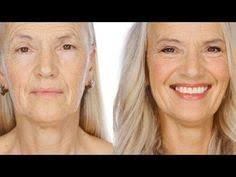 techniques demonstrated on 64 year old yvonne to help achieve a modern defined and natural