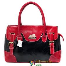 Red Coach East West Large Satchels Loyal In Uk
