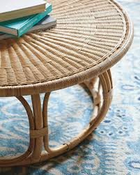 Coffee Table Rattan Anguilla Rattan Coffee Table Serena Lily