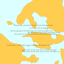 Current Charts San Juan Islands 1991 Current And Tide Tables For Puget Sound Current Chart