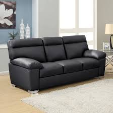 attractive black leather sofas 4 alto 3 seater high back sofa in 1 living surprising black leather sofas
