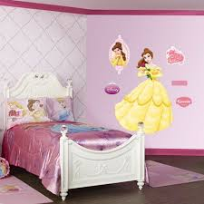Princess Belle Room Decor Girls Room with Princess Belle Wall Mural Sticker Wallpaper 1
