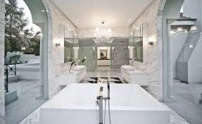Modern Mansion Bathroom For Top Modern And Luxury Master Bathroom