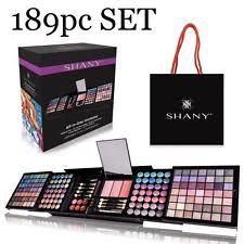 make up eyeshadow lip gloss blush makeup brushes 189pc set 1 2 day shipping
