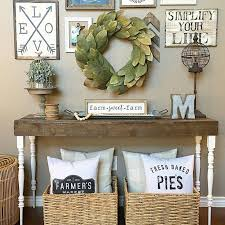 Small Picture Best 25 Console table decor ideas on Pinterest Foyer table