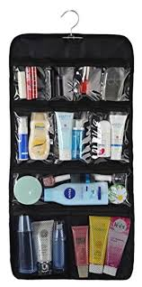WODISON Transparent Clear Hanging Travel Toiletry Cosmetic Organizer Storage  Bag Large - Brought to you by