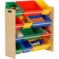 charming toy shelf honey can do kid organizer and storage bin multiple color room wood 719915387051