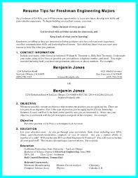 Cal Poly Resume Examples Resume Format 2018 Freshman College Student 2 Sample Samples For