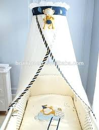 Bed Crown Adorable Little Friend Monkey Designed Mosquito Net And ...