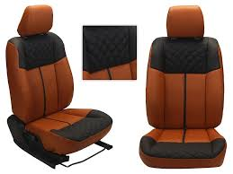 picture of 3d custom pu leather car seat covers for honda crv ht