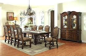 8 chair round dining table 8 seat dining table set dining tables amusing round