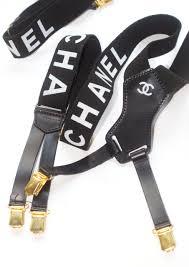 chanel suspenders. chanel suspenders t