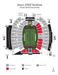Texas Tech Jones Stadium Seating Chart 2015 Jones At T Stadium Map By Texas Tech Athletics Issuu