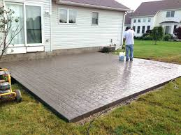 concrete stamping cost stamped per square metre philippines ontario