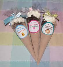 baby shower hot cocoa favors personalized and comes with marshmallows