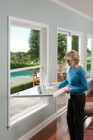 Exterior Window Design Beauteous DoubleHung Windows Can Be Operated From The Bottom Or Top Sash