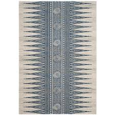 this review is from evoke ivory blue 5 ft x 8 ft area rug
