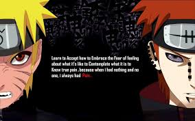 Text Quotes Pain Naruto Shippuden Akatsuki Hate Red Eyes Characters Gorgeous Naruto Motivational Quotes