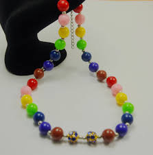 Jewelry Designs Diy Fashion Colorful Handmade Women Jewelry Designs Christmas Gift Diy Beads Necklace For Kids Buy Diy Bead Necklace For Kids Fashion Diy Kids