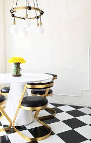 diy vinyl kitchen floor tile l and stick retro brady tolbert kitchen vintage dining room after