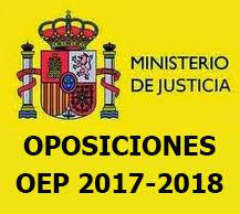Resultado de imagen de oposiciones justicia