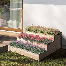 bed 3 tier planter kit elevated planter