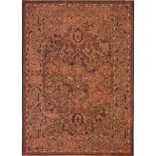 safavieh palazzo black cream 5 ft x 8 ft area rug