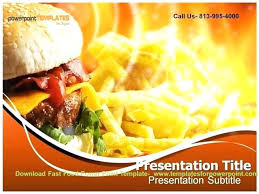 Free Food Powerpoint Templates Fast Food Template Unique Line Powerpoint Templates Free