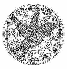 mandala to color animals free bird 579bef1c5f9b589aa 843 free mandala coloring pages for s from free native american