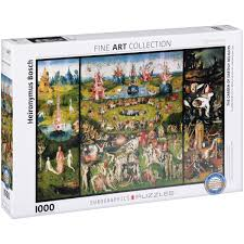 earthly delights 1000 piece puzzle box
