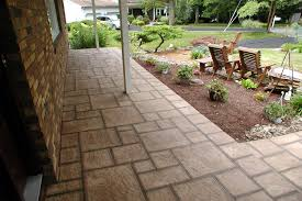 how to install pavers over cement patio ideas