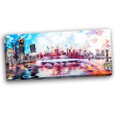 lively nyc cityscape canvas wall art print on americana canvas wall art with lively nyc cityscape canvas wall art print canvases giclee print