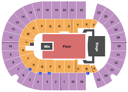 O Brians Event Centre Seating Chart
