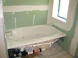 installing bathtub on concrete slab bathtub drain installation rough measurements of bathtub drain bathtub drain installation installing bathtub