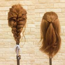 裏編み込みで叶うオシャレhairコツを掴んでチャレンジ Hair